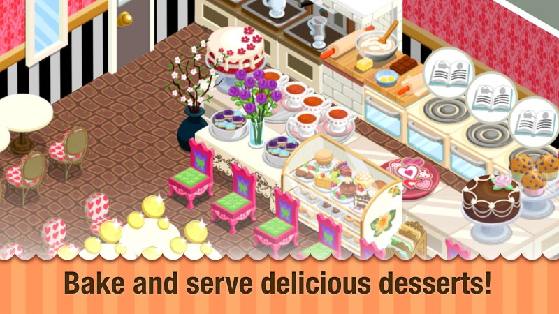 Storm8 bakery story for Bakery story decoration ideas